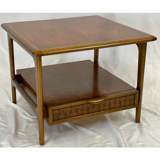 Vintage Mid Century Modern Lane Perception Side Table / Nightstand For Sale - Image 11 of 11
