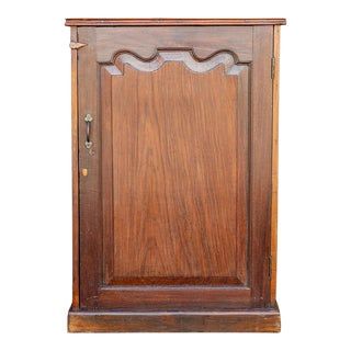 Indo Dutch Rosewood Cabinet For Sale
