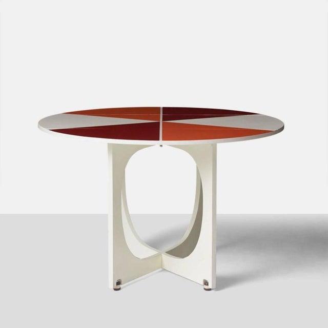 Gio Ponti Drop Leaf Apta Table For Sale - Image 9 of 9