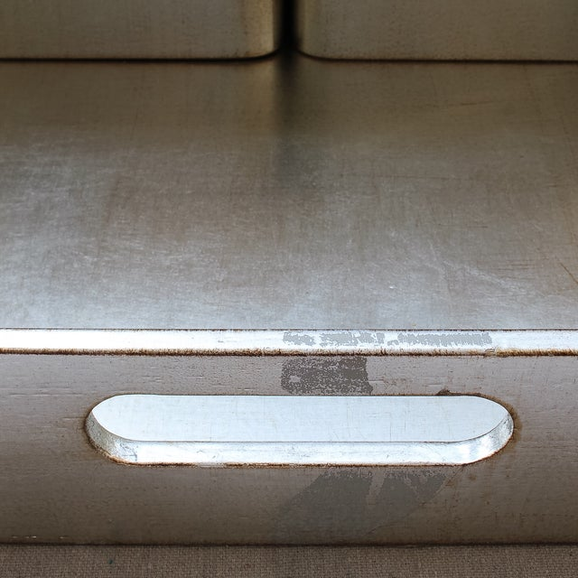 4-Piece Florentine Silver-Gilt Nesting Trays - Image 8 of 11