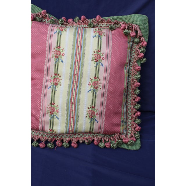 French Mid 20 C. French Chair Pillow For Sale - Image 3 of 9
