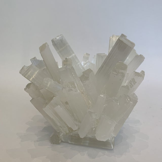 Arts & Crafts Selenite Kathryn McCoy Votive (M) For Sale - Image 3 of 10