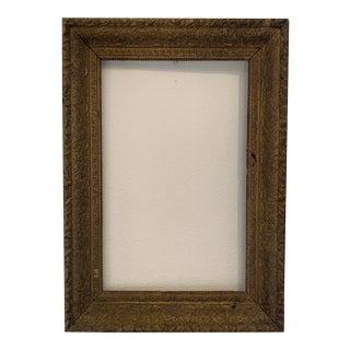 Late 19th Century Gilt Italian Frame For Sale