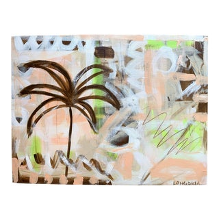 """Palms #8"" Abstract Painting by Christina Longoria For Sale"