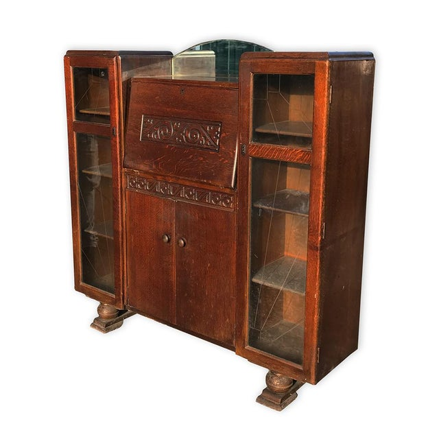 A Very Unusual And Classy Piece To Say The Least These Antique English Art Deco
