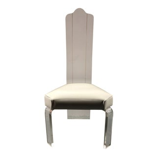 Lucite Dining Chair For Sale