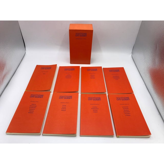 Orange Louis Vuitton European City Guides Box Set, 2000 For Sale - Image 8 of 9