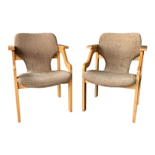 Mid-Century Armchairs - a Pair For Sale