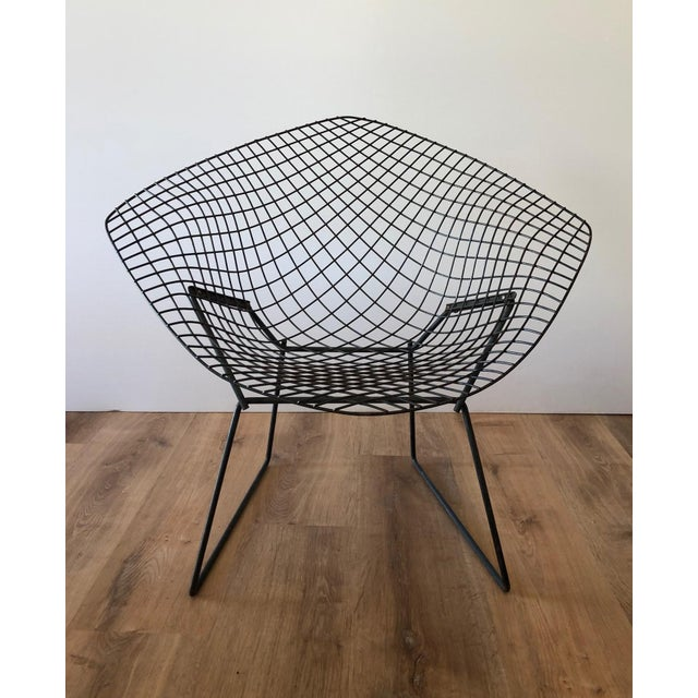"Mid-Century Harry Bertroia-Designed ""Diamond Chair"" for Knoll For Sale - Image 10 of 10"