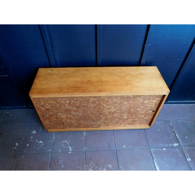 Mid Century Wooden Cabinet For Sale In San Francisco - Image 6 of 9
