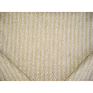 3-1/8y Romo 7698 Dante Pesto Soft Green Textured Herringbone Upholstery Fabric For Sale