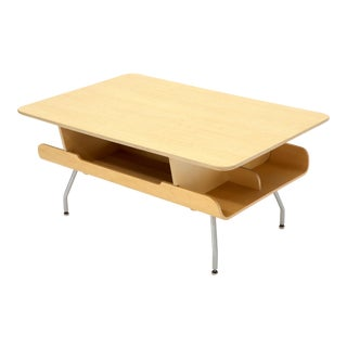 Herman Miller Molded Plywood Magazine Rack Coffee Table For Sale