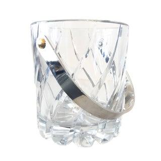 Mikasa Crystal Ice Bucket