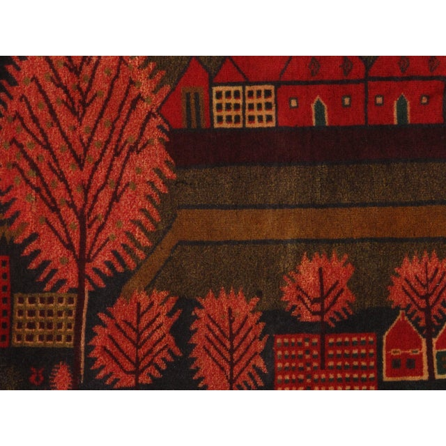"Pasargad N Y Afghan Baluch Rug - 2'8"" X 4'2"" For Sale - Image 4 of 5"