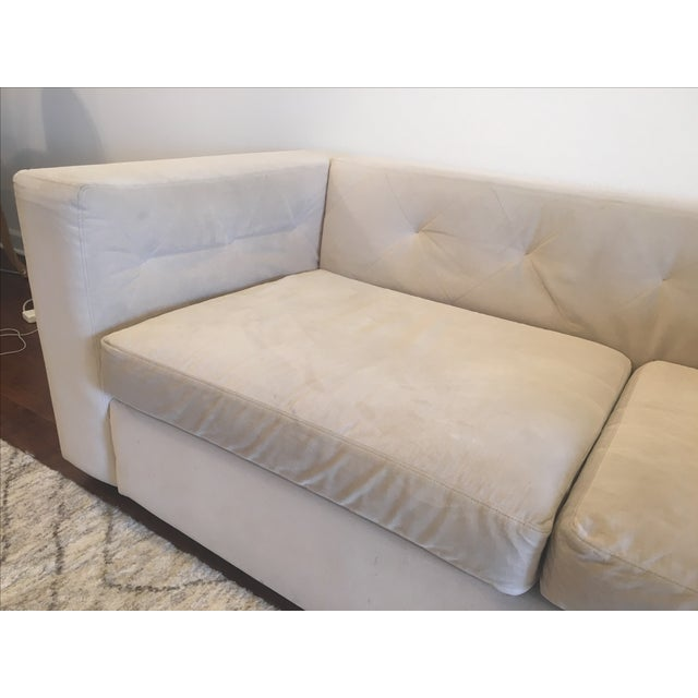 West Elm Modern Sofa - Image 4 of 5