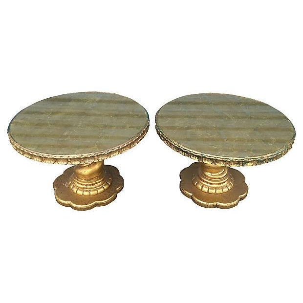 Florentine Style Gilt Twist Tables - A Pair - Image 4 of 7