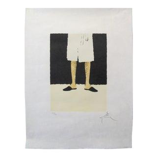 1960s Original Gruau Print, Dior Eau Sauvage, Hand-Signed and Numbered For Sale