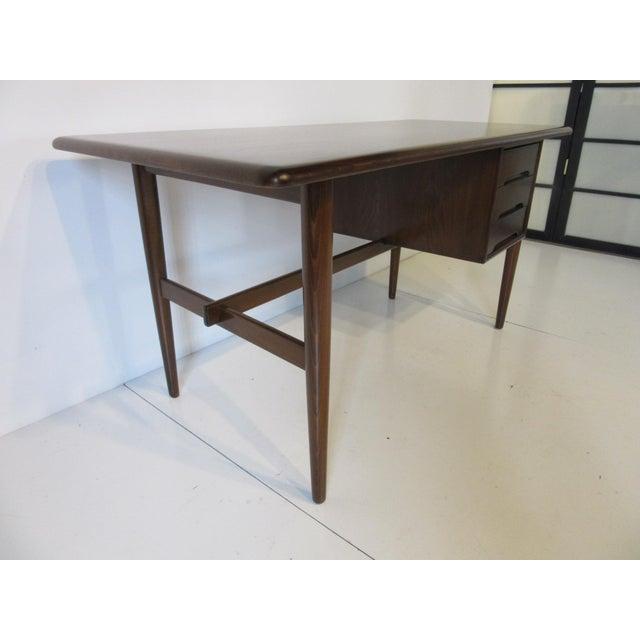 Danish Mid-Century Desk For Sale - Image 4 of 10