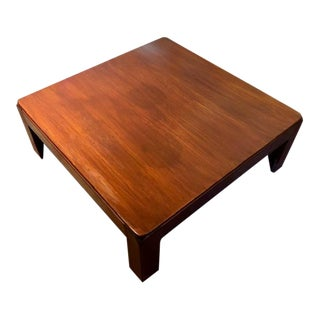 Niels Eilersen Mid-Century Danish Modern Teak Coffee Table For Sale