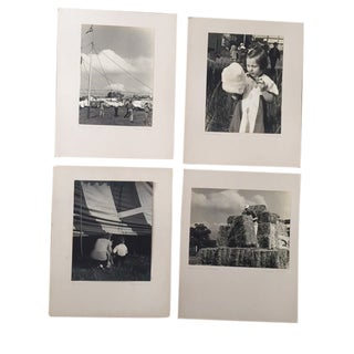 1940's Black and White Photographs of the Ringling Bros Circus - Collection of 4 For Sale