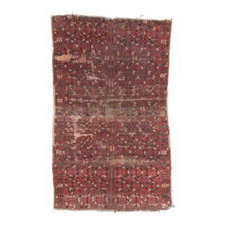Inga Antique Beshir Afghanistan Rug- 4′5″ × 7′1″ For Sale