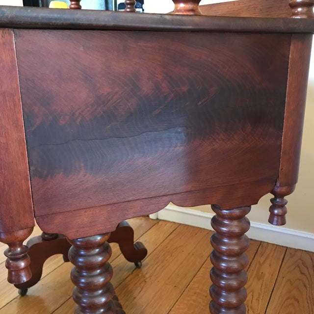 Late 19th Century Antique Spool Turned Desk Etagere For Sale - Image 12 of 13