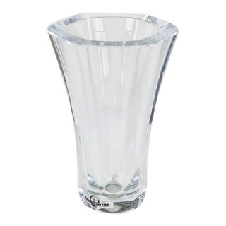 Crystal Vase by Stromberg, Sweden For Sale