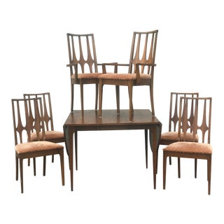 Mid Century Modern Broyhill Brasilia Dining Set - 7 Pieces For Sale