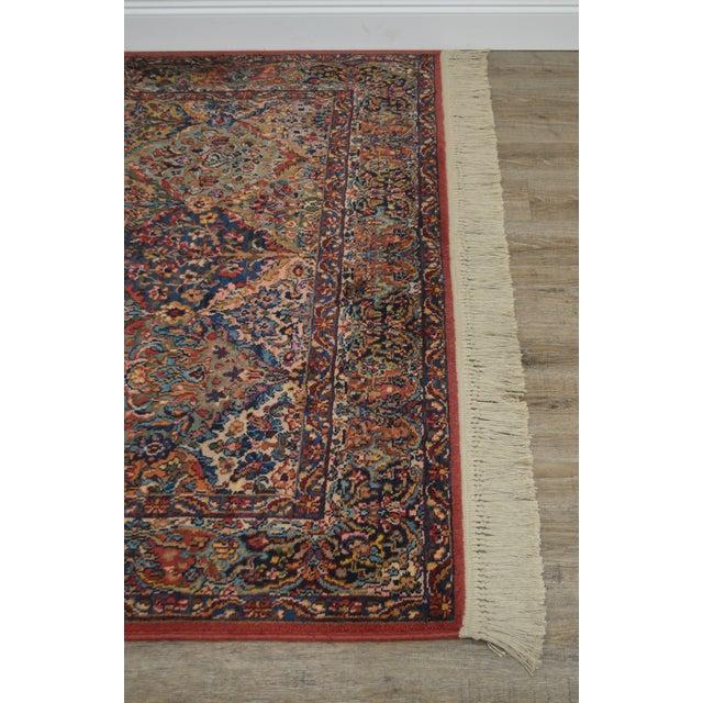 Karastan Multicolor Panel 5.9 X 6.9 Area Rug # 717 For Sale - Image 4 of 13