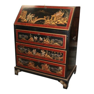 20th Century Asian Secretary Desk For Sale