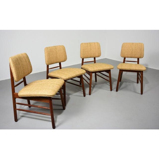 1952 Vintage Greta Grossman Model 6260 Chairs - Set of 4 For Sale In Detroit - Image 6 of 10