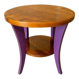 French Art Deco Side Table For Sale