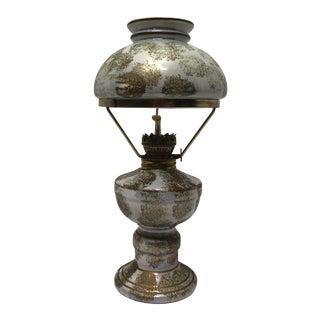 1940s Vintage Norcrest Japanese Oil Lamp For Sale