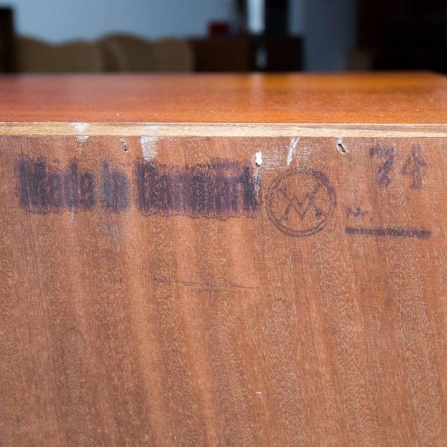 Brown Arne Wahl Iversen for Vinde Mobelfabrik Danish Modern Teak Dresser For Sale - Image 8 of 10