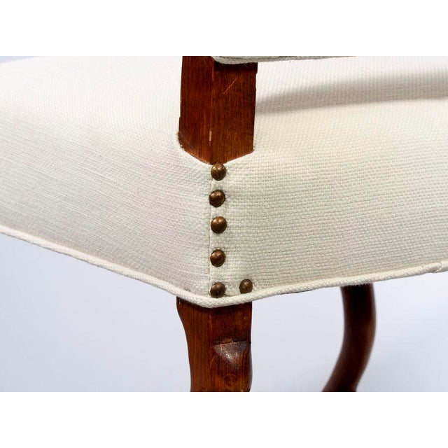 Set of 8 Newly Upholstered Os de Mouton Chairs For Sale - Image 9 of 10