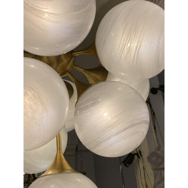 Ivory Visual Comfort Cristol Tiered Chandelier For Sale - Image 8 of 10