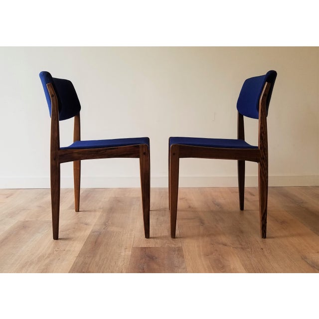 1960s Danish Rosewood Dining Chairs - Set of 6 For Sale In Seattle - Image 6 of 13