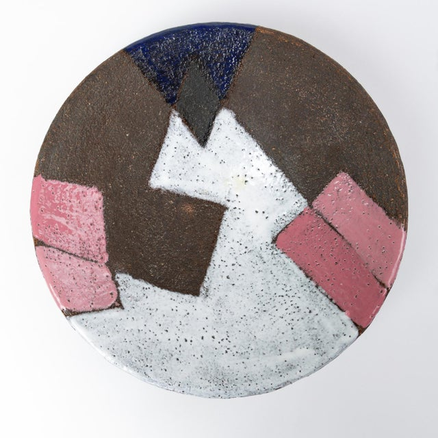 Bitossi Patchwork Glazed Stoneware Bowl For Sale In Los Angeles - Image 6 of 11