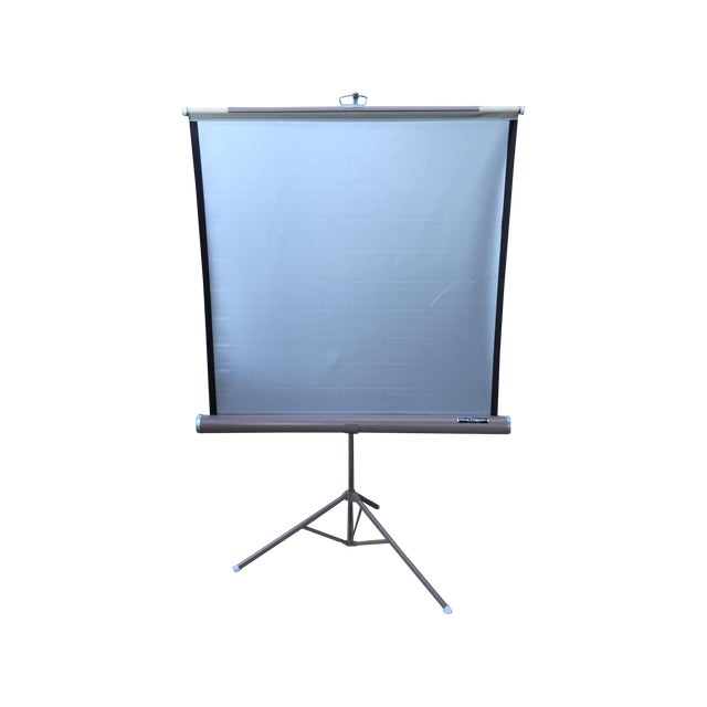 Mid Century Wards Portable Projection Screen - Image 1 of 11