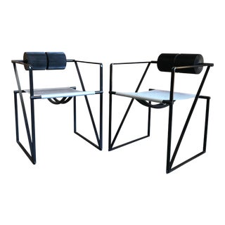 Mario Botta Seconda 602 Armchairs - a Pair For Sale
