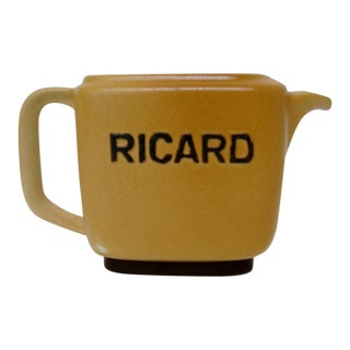 Vintage Ricard Pastis Pitcher For Sale