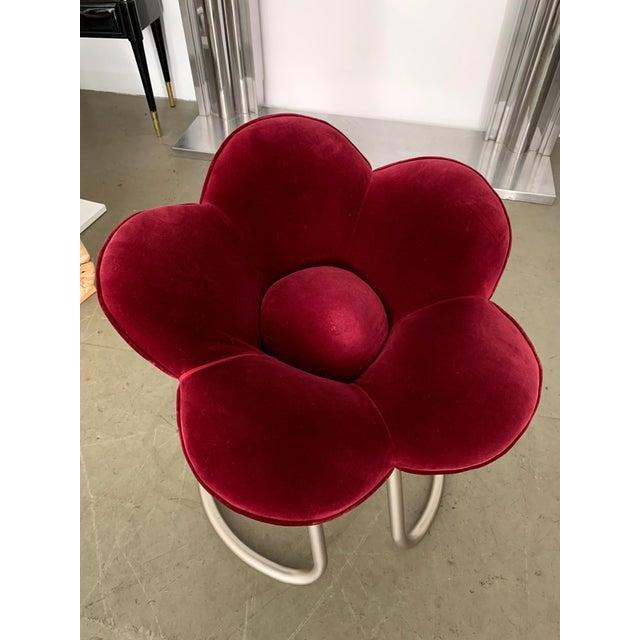 Edra 1990s Masanori Umeda for Edra Soshun Flower Stools- Set of 4 For Sale - Image 4 of 9