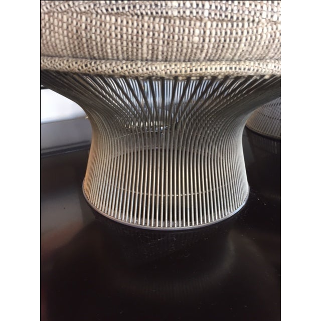 Warren Platner for Knoll Lounger & Ottoman - Image 4 of 10