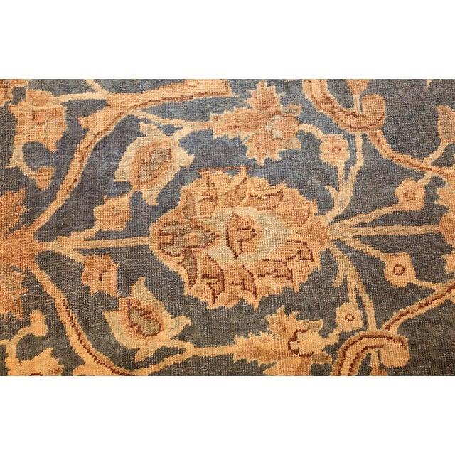 Antique Persian Tabriz Rug - 4′2″ × 6′4″ For Sale - Image 4 of 8