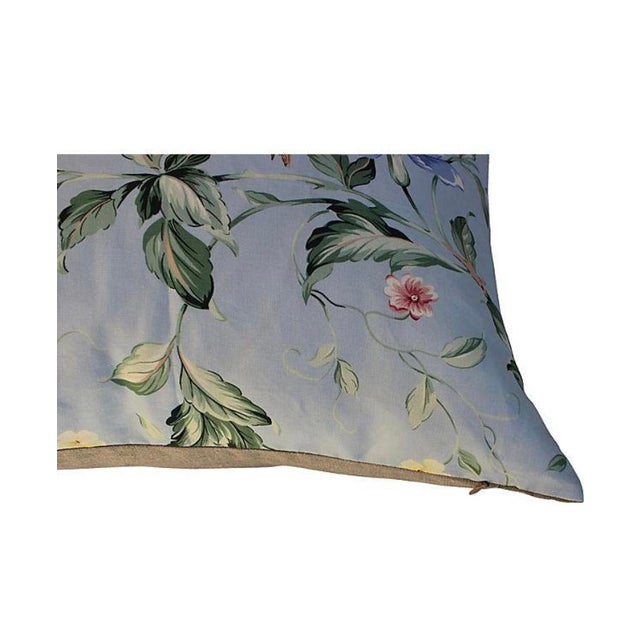 2020s Scalamandre Floral & Bird Chinoiserie Pillows - a Pair For Sale - Image 5 of 7