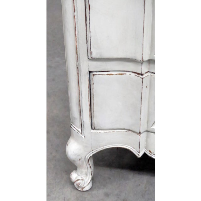 Mid 20th Century 20th Century French Country Painted Decorated Dresser For Sale - Image 5 of 10