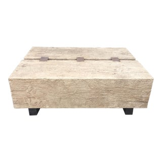 Faux Bois Mimi London Designer Industrial Chic Coffee Table