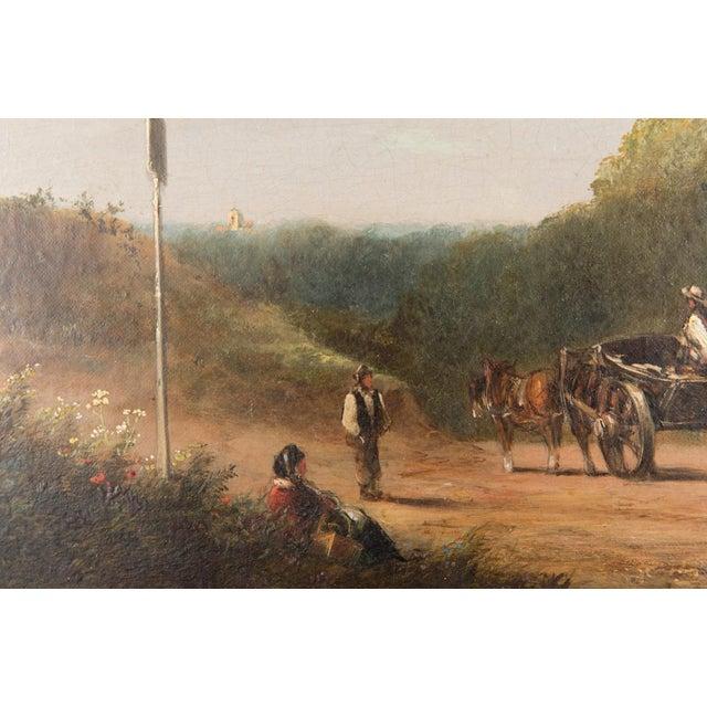19th-C. Sussex Landscape by E. J. Niemann For Sale - Image 4 of 10