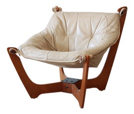 Image of Teak Club Chairs