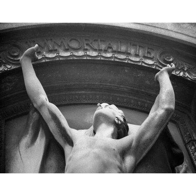 Immortalite, Pere Lachaise, Paris. Original photograph by Louise Weinberg. Original photograph by Louise Weinberg. Please...